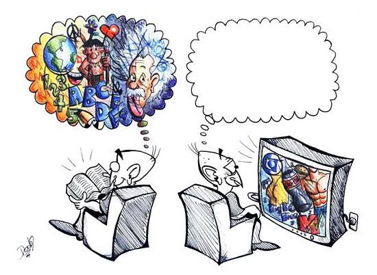 телевидение и книги